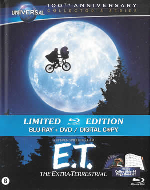 E.T. The Extra-Terrestrial - Limited Digi-Book Edition
