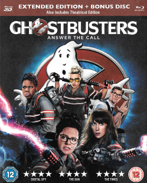 Ghostbusters (2016) 3D