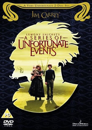 Lemony Snicket's A Series of Unfortunate Events - A Very Unfortunate 2-Disc Set