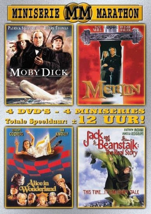 Miniserie Marathon: Moby Dick / Merlin / Alice in Wonderland / Jack and the Beanstalk: The Real Story