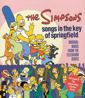 The Simpsons: Songs in the Key of Springfield - Puzzle Edition