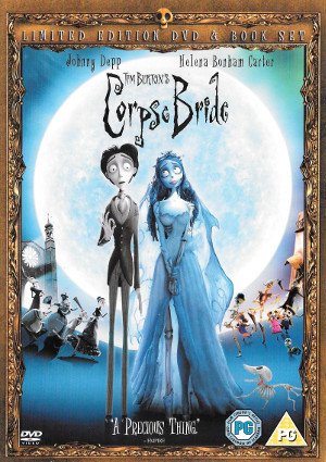 Corpse Bride - DVD & Book Set